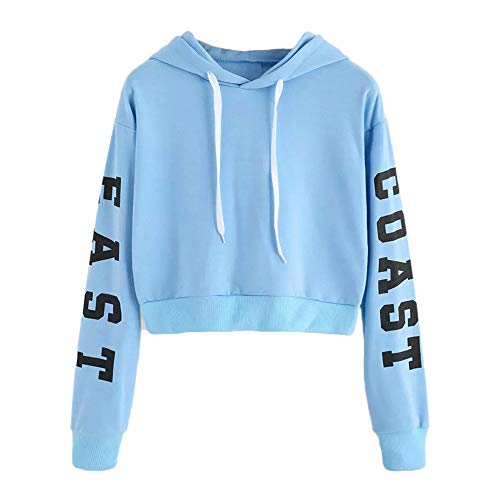 baaa09a4e8720e Btruely Hoodie Pullover Damen Herbst Mode Hooded Sweatshirt Mädchen Pullover